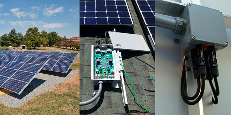 What is the solar power system?
