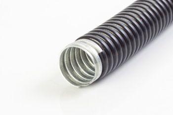 Eletroduto Metalico Corrugado com Cobertura PVC 4